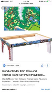 Original Thomas the train set wood table excellent condition