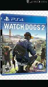 WATCH DOGS 2 & UNCHARTED 4 (PS4)