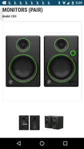 Monitor Speakers WANTED!