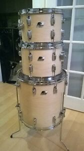 Ludwig 5pc Rocker II with Original Hi hat stand and bass pedal