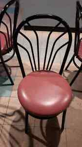 RESTAURANT CHAIRS/TABLE *ONLY $15**