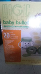 Magic bullet baby bullet used once clean like new in box