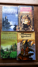Terry Brooks Shannara books x 4