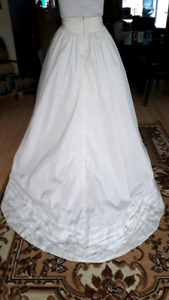 Make a Style Statement in this Modern Chic Bride's skirt!