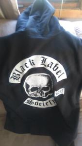 Black label society hoodie
