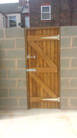 GARDEN GATE/BACK GATE (NEW)