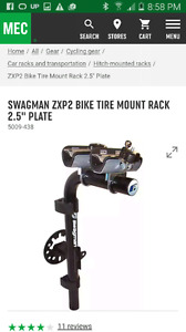 Swag man ZXP2 Bike Tire Mount Rack