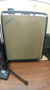 1974 Fender Bassman 10 50 watt tube amp 1st year made