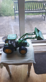 Large Green Plastic Realistic Tractor.
