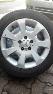 Toyo Winter Tires  with rims  205/55/16 for Mercedes Benz