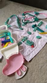 Kids doctor play set Peppa pig