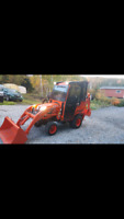 Tractor/backhoe services