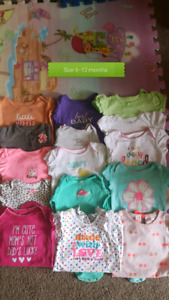 Girl summer clothes size 6-12 m great