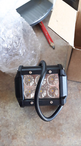 """3"""" cree  Led drive lights with wire harness"""