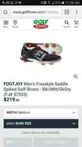 New in box freestyle foot joy golf shoes