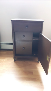 Great shape 1930's General Fireproofing Co Secretaire Cabinet
