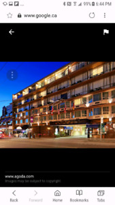 Asking $60.00 To Take Over One Night Beach Front Hotel Room