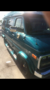 1994 CHEVY G20 CONVERSION VAN IN GREAT SHAPE!!