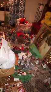 Vintage an antique christmas decorations and ordaments Windsor Region Ontario image 1
