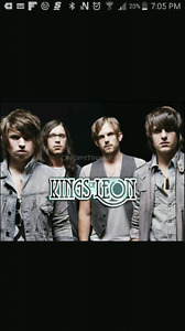 4 kings of leon tickets at the fox theatre. March 9th