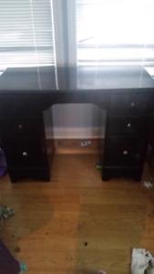 Antique desk refinished