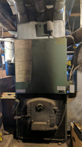 Wood Furnace, Oil Furnace and ductworks