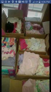 Baby girl clothes and other stuff