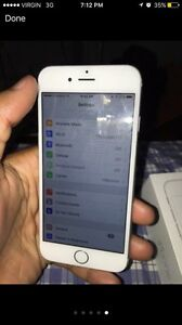 Grey/Black Iphone 6 64giga With Bell/Virgin Mobile
