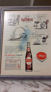 DR. Pepper Advertising Sign