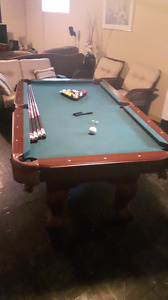 Canadian tire pool table