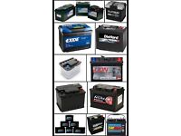 Car and van battery wanted £5 each