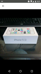 (Like new in box) iPhone 5S