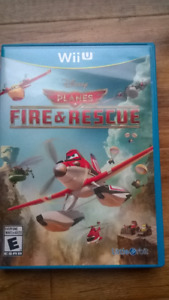 """WII U GAME """"FIRE AND RESCUE"""" DISNEY, NEW!!"""