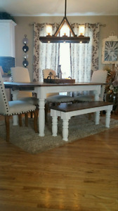 New farmhouse extension table