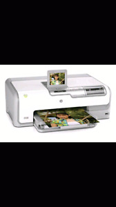HP photo printer, no ink