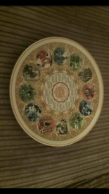 Wedgewood plate. Millennium.