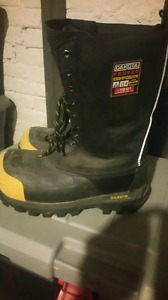 Dakota Propac Composite Winter Steel Toed Boots Size 10