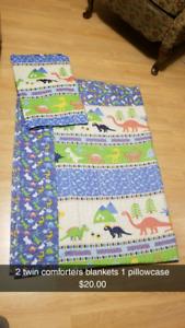 Comforter and sleeping bag