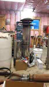 "7"" insulated chimney"