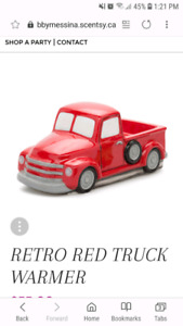 Truck collection scentsy
