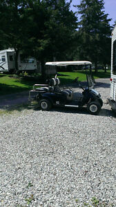 Electric golf cart available in May