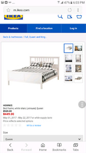 HENMES DOUBLE BED WITH BOX SPRING