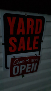 Giant yard sale (Every weekend)