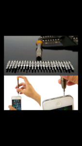 Precision Torx screw set of 25 pieces for iphone cell phone etc