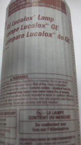 GE LUCALOX 150W HPS BULB FOR HYDROPONIC GARDENS & OUTDOOR LIGHTS