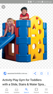 Water play house