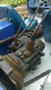 Willys transmission and transfer case