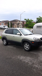2007 Hyundai Tuscan as is