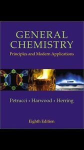 GENERAL CHEMISTRY 8TH EDITION AND SOLUTIONS MANUAL