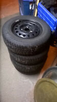 COOPER WEATHERMASTER ST2 WINTER TIRES WITH RIMS!!!